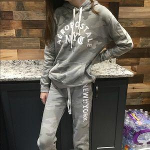 Aeropostale camouflage hoodie